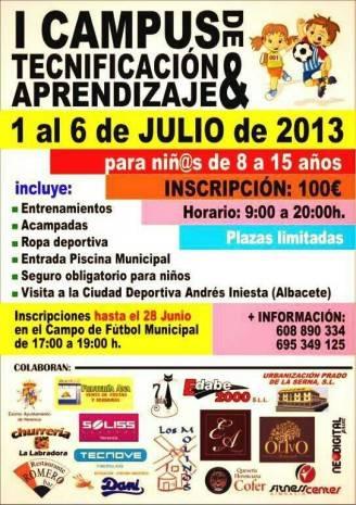I Campus Deportivo de Tecnificación y Aprendizaje de Herencia