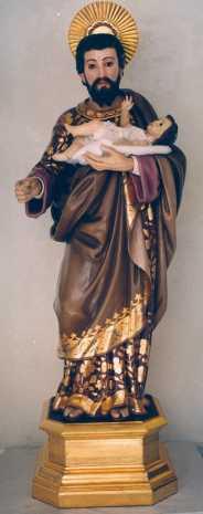 Imagen de san José de Herencia