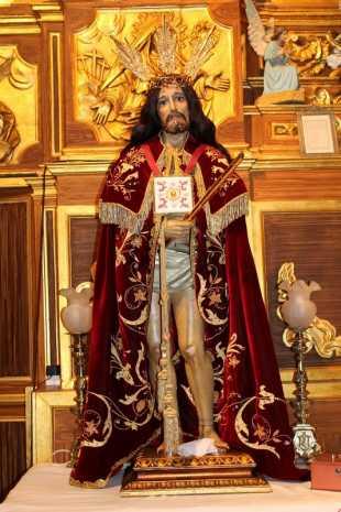 Imagen del Cristo de la Misericordia de Herencia