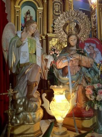 Virgen de la Encarnaci%C3%B3n de Herencia 347x465 - Procesión extraordinaria navideña con motivo del Año Jubilar