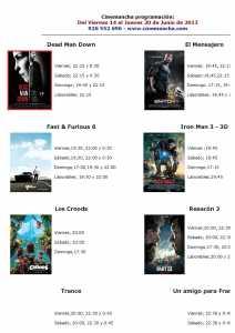 cartelera del 14 al 20 de junio 212x300 - Programación Cinemancha del 14 al 20 de junio