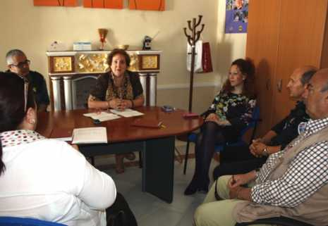 Reunión sobre protocolo de Violencia de Género en Herencia