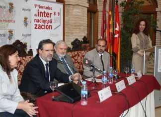 Inauguración de las I Jornadas de Internacionalización de Herencia