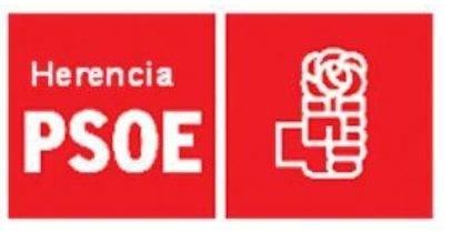 logo psoe herencia - El PSOE de Herencia publica datos de nóminas y declaración de bienes de sus concejales