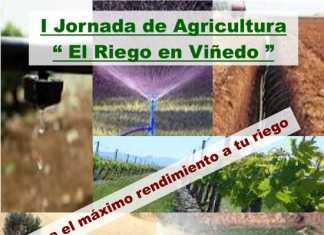 Cartel Jornada de Riego en el viñedo