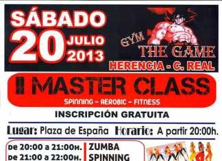 Cartel Segunda Master Class The Game Herencia