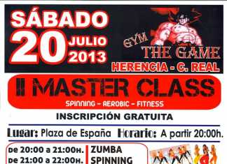 Cartel Segunda Master Class The Game Herencia