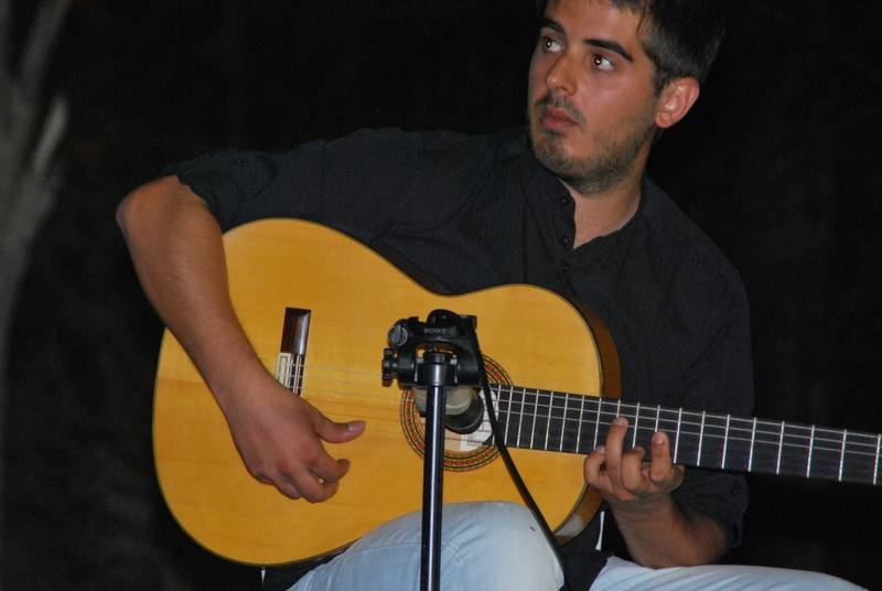 Guillermo Martín del Campo - Comienzan las II Colonias Musicales de Villarrubia de los Ojos con la participación de Guillermo Martín