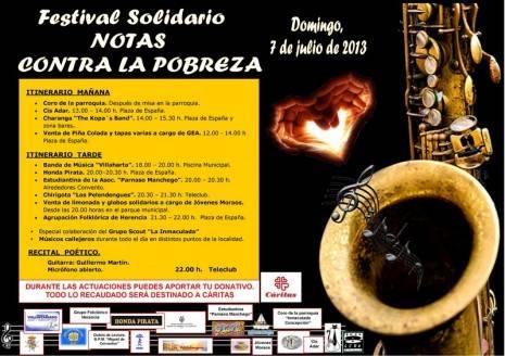 """NOTAS CONTRA LA POBREZA CARTEL 3 Herencia 465x328 - Festival Solidario """"Notas contra la pobreza"""""""