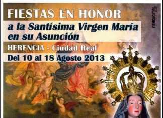 Cartel fiestas de La Labradora - Herencia 2013