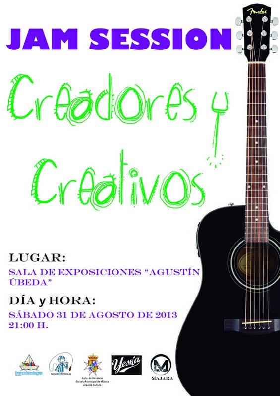 """Herencia Jam Sesion Creadores y Creativos - Majara y Yeska participan en una Jam Session dentro del proyecto """"Herencia Creadores y Creativos"""""""