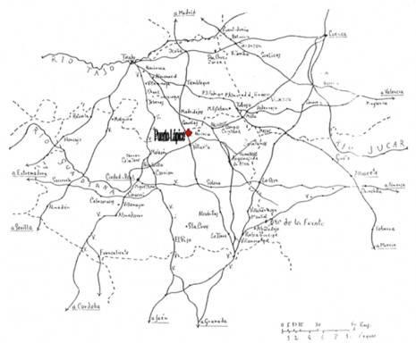 Mapa de situación de Puerto Lápiece