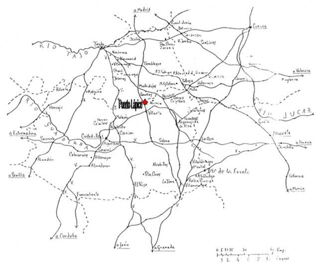 mapa de situacion de puerto lapice - La independencia de Puerto Lápice