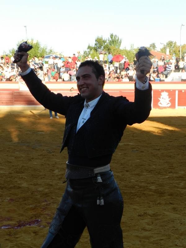 Corrida de Rejones de la Feria y Fiestas de La Merced 2013 de Herencia - Galán afianza su status y sorprende Curro Bedoya en la Feria de la Merced