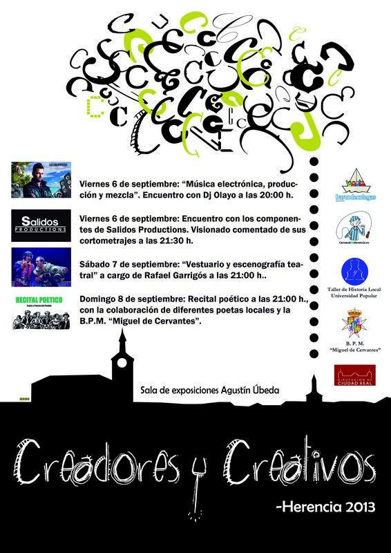 Herencia Creadores y Creativos_Actividades 6-8 septiembre
