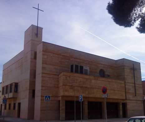 San Rafael Parroquia 465x391 - Concierto de Cis Adar en la parroquia de San Rafael de Alcázar de San Juan