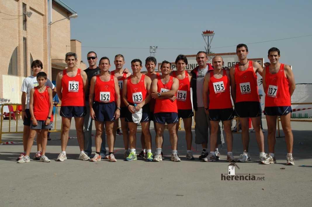 Fotografía del Equipo del Club Atletismo Molino Parra en la XXXIX Carrera Popular