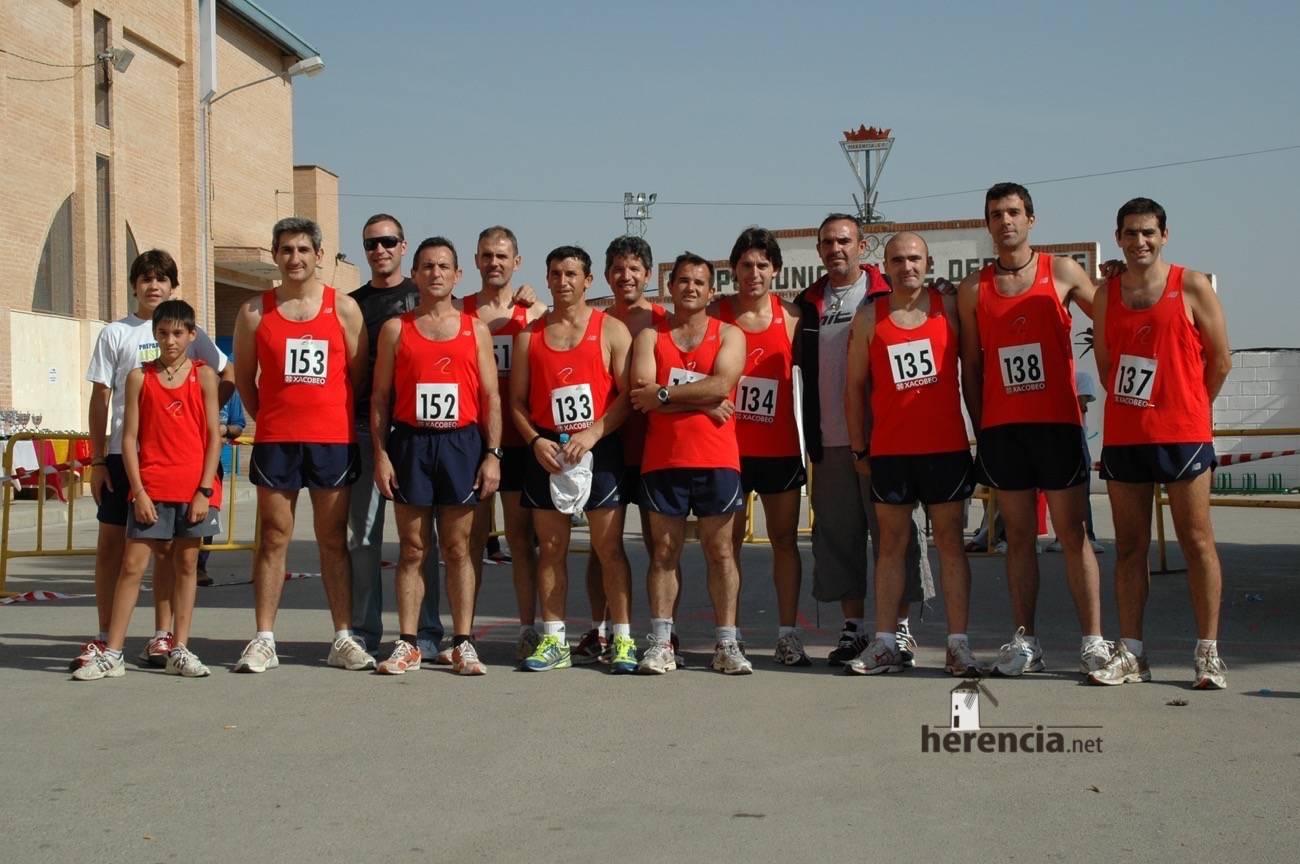 equipo de club atletismo molino parra en 2007 - Club Atletismo Molino Parra