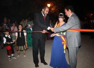 Inauguración de la Feria y Fiestas de La Mered 2013 de Herencia