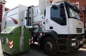camion basura comsermancha de carga lateral