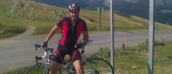 ciclista oscar bautista garcia - Ciclista atropellado en la A-42
