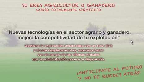 curso nuevas tecnologias sector agrario