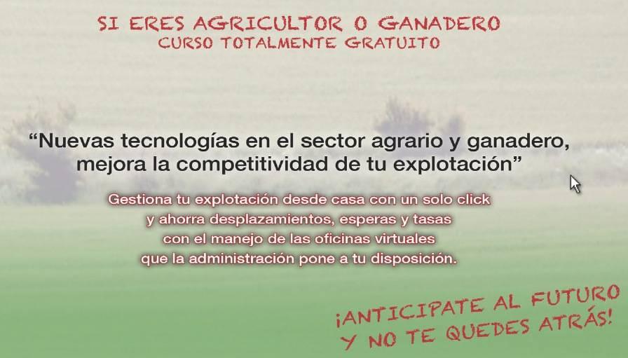 curso nuevas tecnologias sector agrario - Curso sobre las nuevas tecnologías en el sector agrario