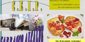 desayuno solidario en herencia 300x150 - El CEIP Carrasco Alcalde organizo un desayuno saludable solidario