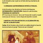 Actos para el Día de las Mujeres Rurales 2013 1