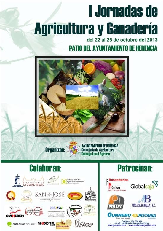 I Jornadas de Agricultura y Ganaderías en nuestra localidad 1