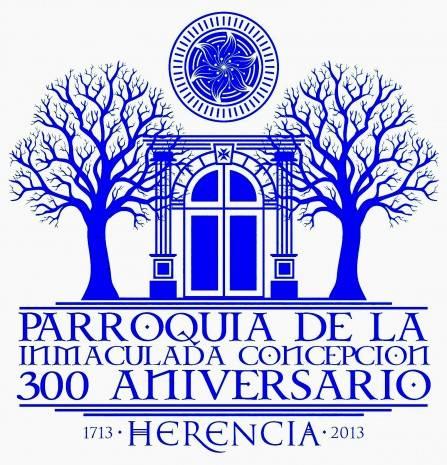 logo puerta parroquia inmaculada concepcion 300 aniversario herencia 447x465 - Programación de actos para la inauguración del Año Jubilar