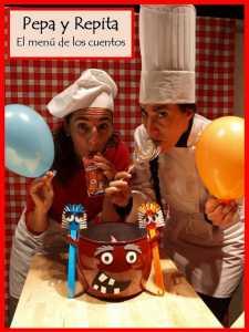 pepa y repita el menu de los cuentos 225x300 - Teatro infantil para los más pequeños este 31 de octubre y también en noviembre y diciembre