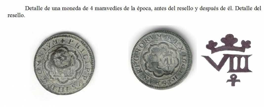 El resello de moneda 1