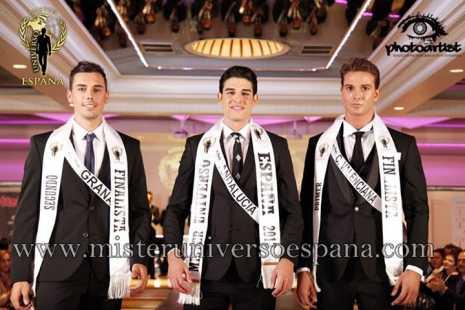 Ganadores del Certamen Míster Universo-España 2013