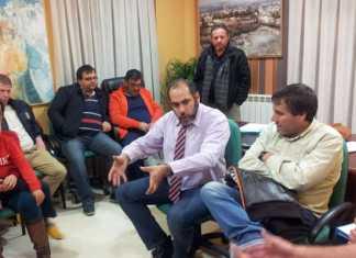 Alcalde de Herencia se reune con los hosteleros
