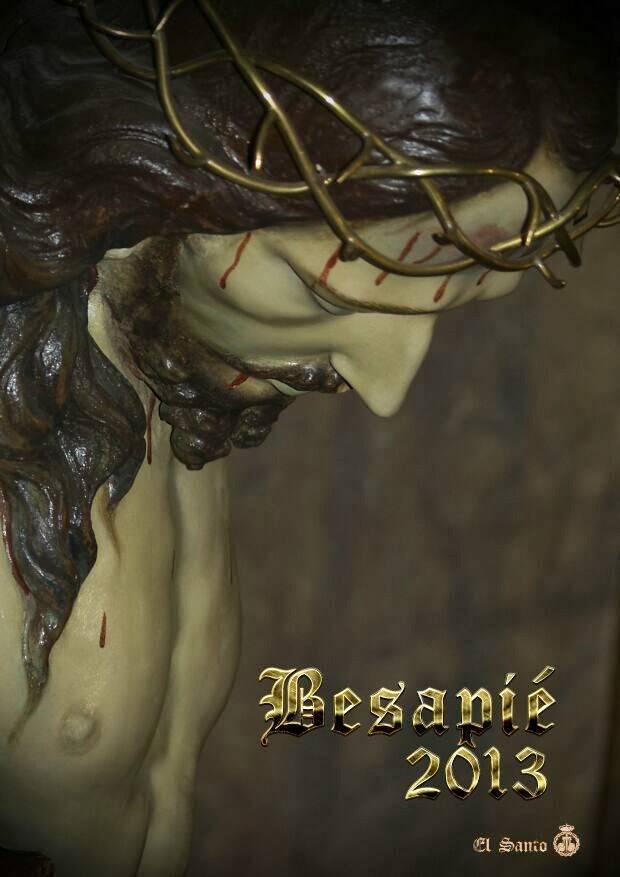 Besapié Cristo de los Afligidos
