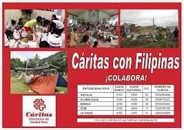 Cáritas con Filipinas