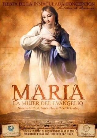 CARTEL MARIAWEB - Fiesta de la Inmaculada Concepción en Herencia