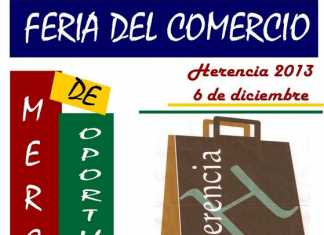Cartel Feria del Comercio de Herencia