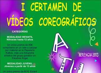 I Certamen de Videos coreográficos de Herencia