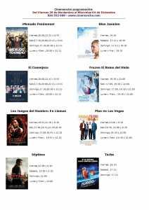 cartelera de multicines cinemancha del viernes 29-11-13 al miercoles 04-12-13