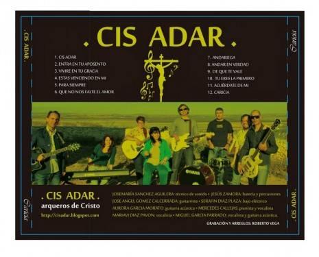 cd cis adar caricia 465x375 - Concierto-oración de Cis Adar en Camuñas