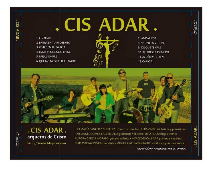 cd cis adar caricia - Concierto-oración de Cis Adar en Camuñas