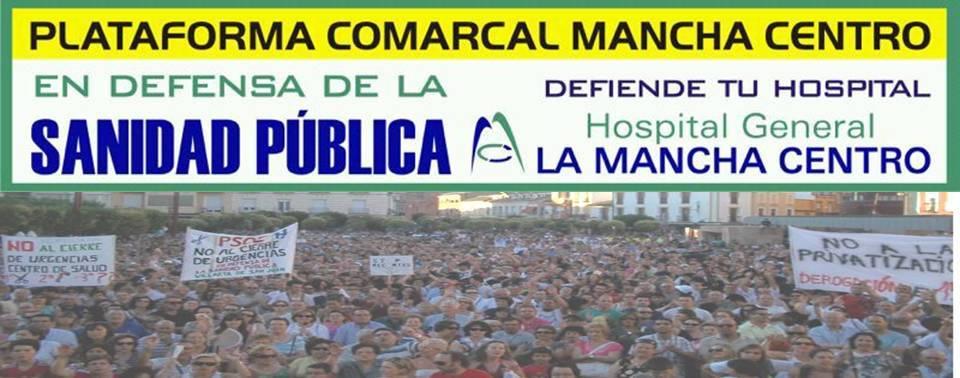 portada plataforma mancha centro - Los pacientes del Hospital Mancha Centro llenan las salas de los hospitales privados de Madrid