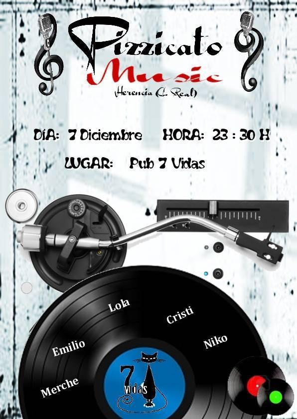 Concierto Pizzicato Music dia 7 dic 2013 - Nuevo concierto de la agrupación Pizzicato Music