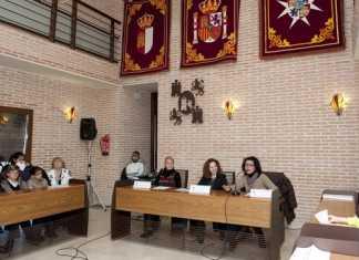 Visita escolar al Ayuntamiento de Herencia