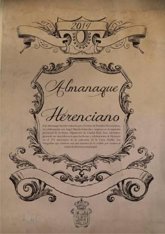 almenaque herenciano 2014 327x465 - Nueva edición del almanaque herenciano