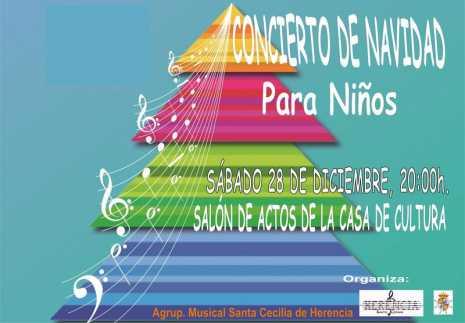 concierto para ni%C3%B1os de la agrupaci%C3%B3n musical santa cecilia 465x323 - Concierto de Navidad para niños