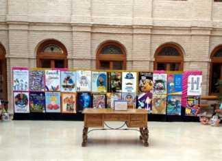 Exposición de las obras presentadas al concurso para elegir el cartel anunciador del Carnaval de Herencia 2014