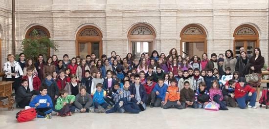 herencia pleno escolar a g - Iniciados en Herencia los actos conmemorativos con motivo del día de la Constitución